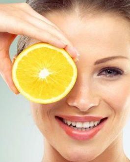 Peeling de Vitamina C com Pérolas Orientais